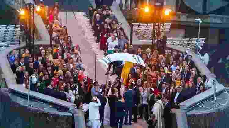 Casamento de Guy Oseary e Michelle Alves no Cristo Redentor, no Rio, com convidados famosos - AgNews