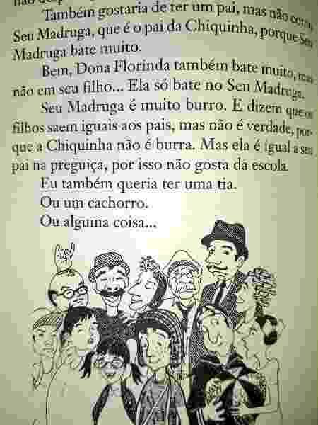 """Trecho do livro """"O Diário do Chaves"""", de Roberto Gómez Bolaños - Reprodução - Reprodução"""