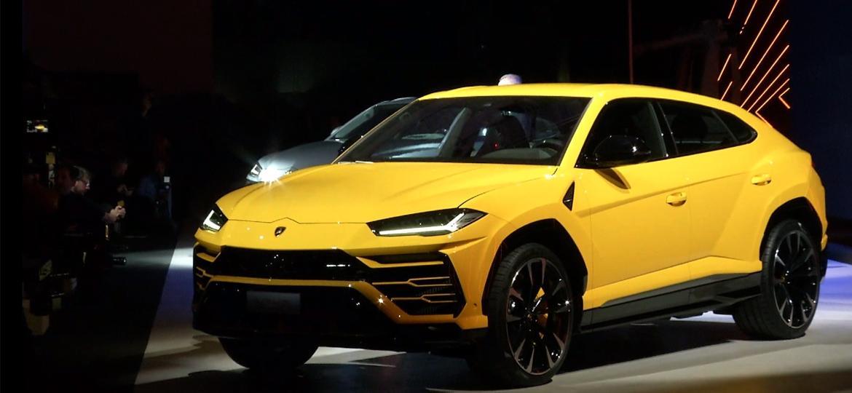 Lamborghini Urus: cara de Huracán, corpo de Audi Q8... - Reprodução