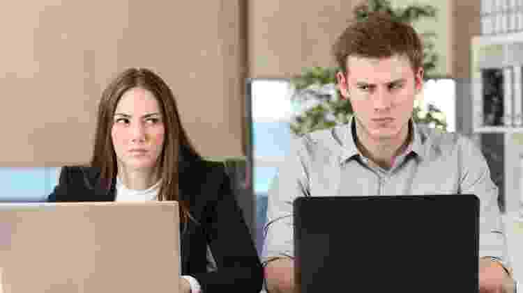 Pessoas com raiva, escritório, getty - Getty Images - Getty Images