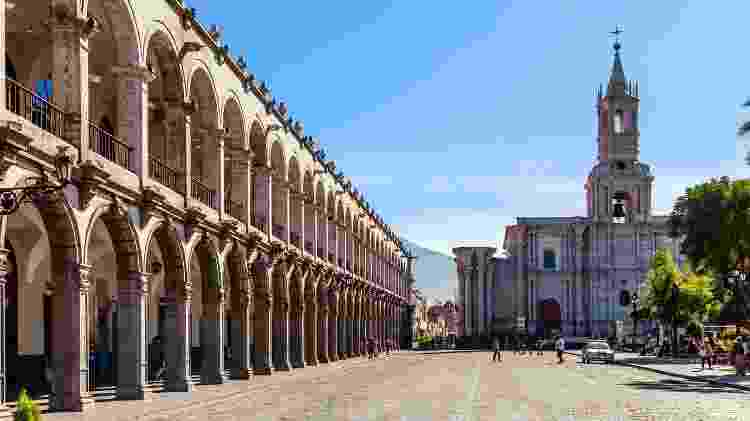 Arequipa, no Peru - Getty Images/iStockphoto - Getty Images/iStockphoto