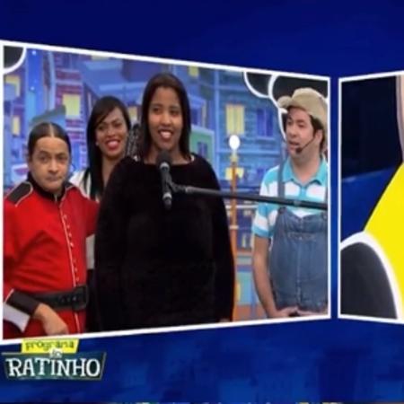 """Jovem comete gafe no """"Programa do Ratinho"""" - Reprodução/SBT"""