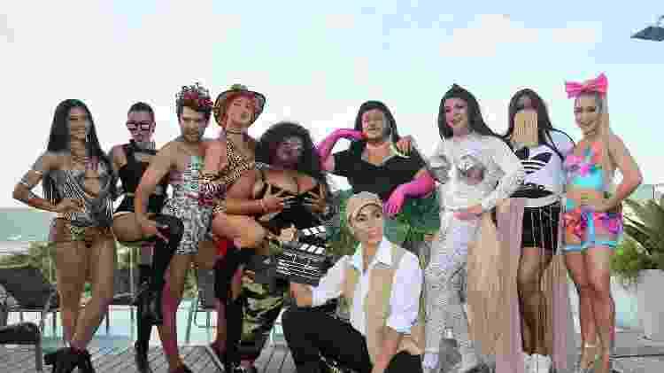 Convidados famosos de Anitta foram fantasiados em homenagem aos clipes da cantora - Manuela Scarpa/Brazil News