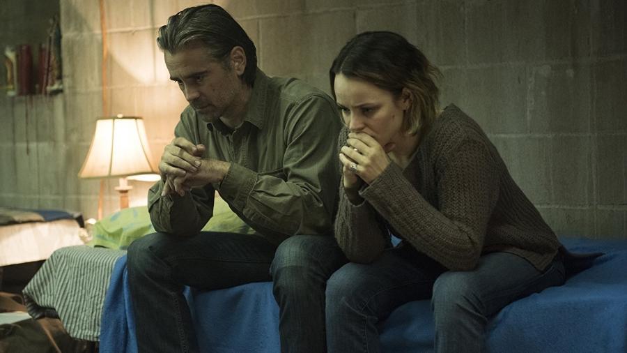 """Colin Farrell e Rachel McAdams em cena da segunda temporada de """"True Detective"""" - Reprodução"""