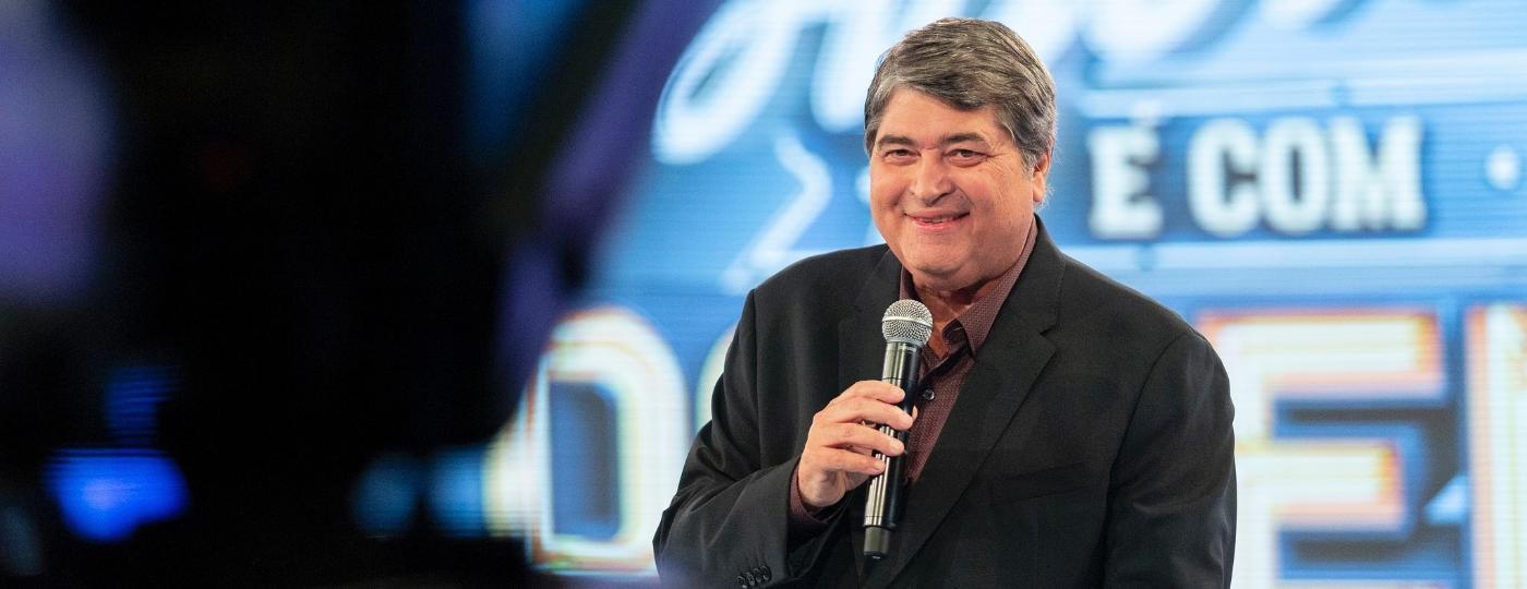 Datena estreou atração dominical na Band com seis horas de duração - Kelly Fuzaro/TV Bandeirantes