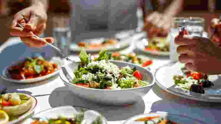 Dieta balanceada/ Dieta mediterrânea/ Alimentação saudável/  - iStock - iStock