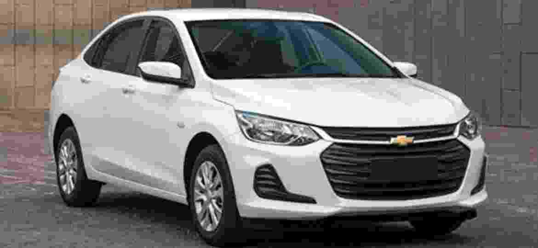 Imagem do novo Chevrolet Onix com carroceria sedã já vazou na China, onde compacto também será fabricado e vendido - Auto Home