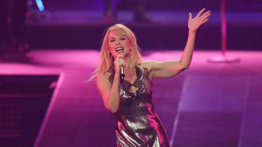Kylie Minogue está em turnê pela Europa - Andreas Rentz/Getty Images