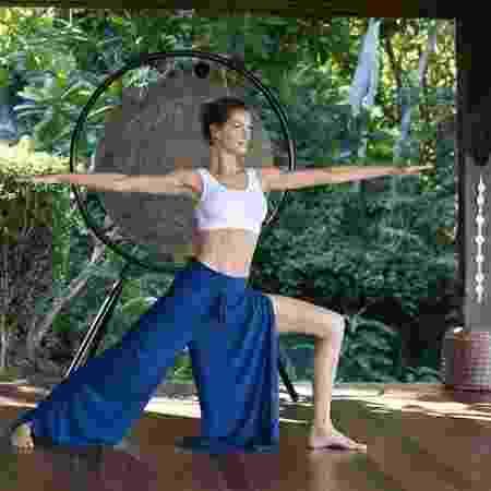 A modelo Gisele Bündchen faz ioga e meditação há anos - Reprodução/Instagram
