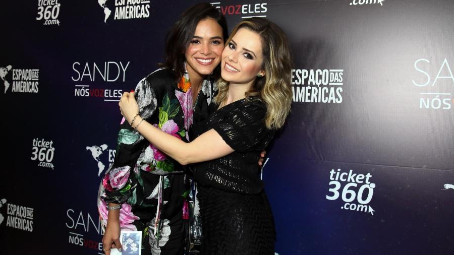 Bruna Marquezine e Sandy - BrazilNews