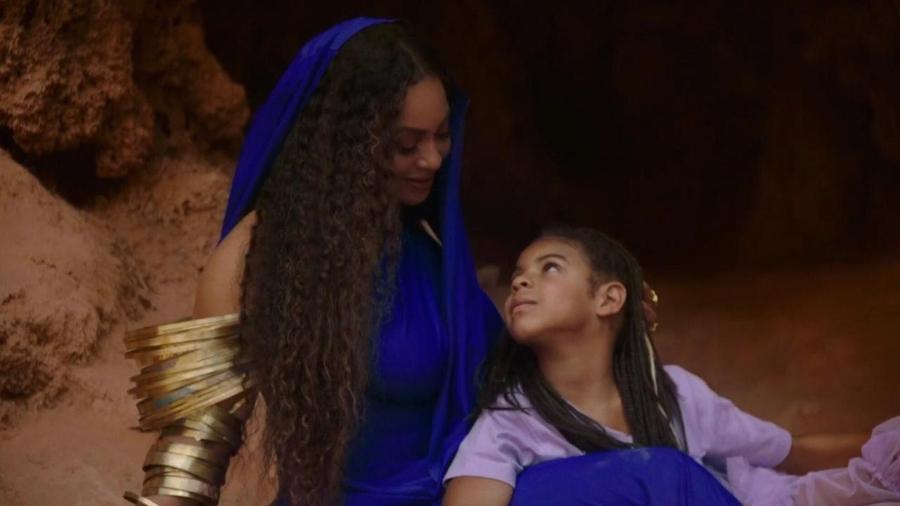Beyoncé e Blue Ivy - Youtube/Reprodução
