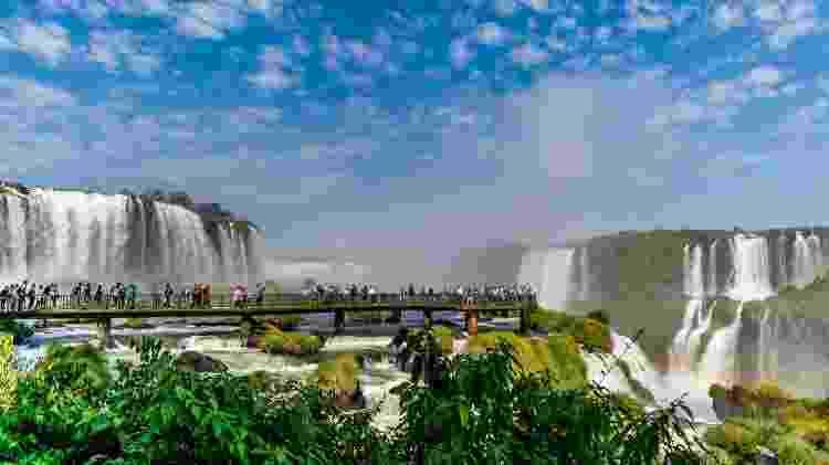 Cataratas do Iguaçu, em Foz do Iguaçu - advjmneto/iStock
