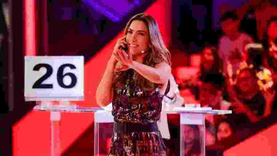 Patrícia Abravanel está à frente do novo Topa ou Não Topa - Gabriel Cardoso/SBT