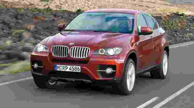 BMW X6 - Divulgação - Divulgação