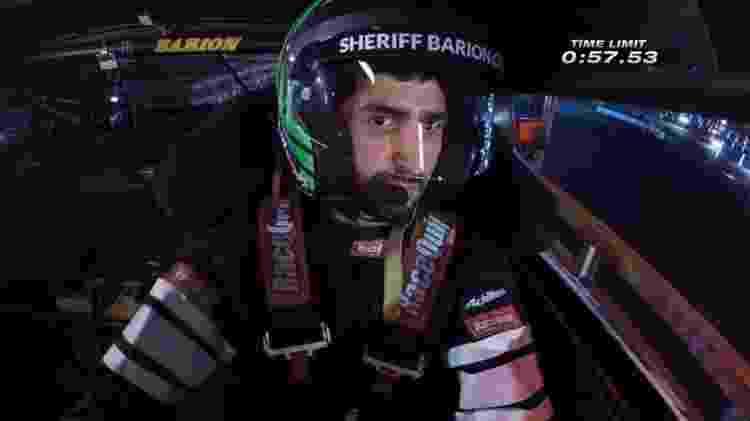João Barion passa pelo temido nivelador de Hyperdrive - Reprodução