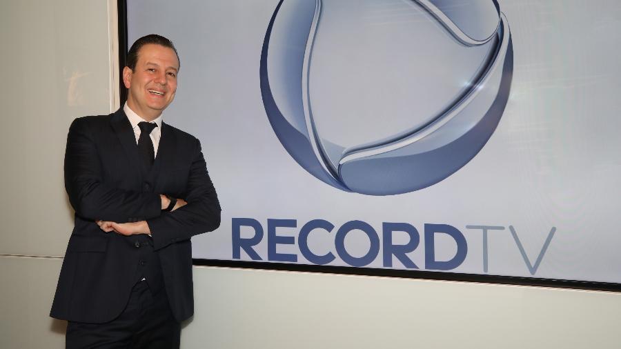 Celso Zucatelli de volta à Record - Antonio Chahestian/Record