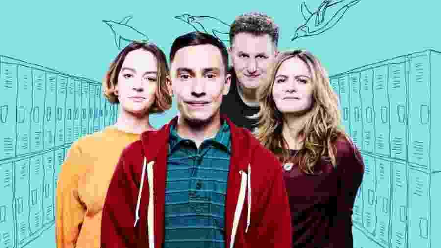 """""""Atypical"""", série produzida pela Netflix, conta a história de Sam, um adolescente autista que está em uma jornada em busca de sua primeira namorada - Divulgação"""