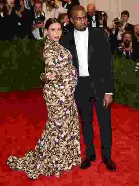 Kanye e Kim no MET Gala em 2013 - Reprodução/Instagram