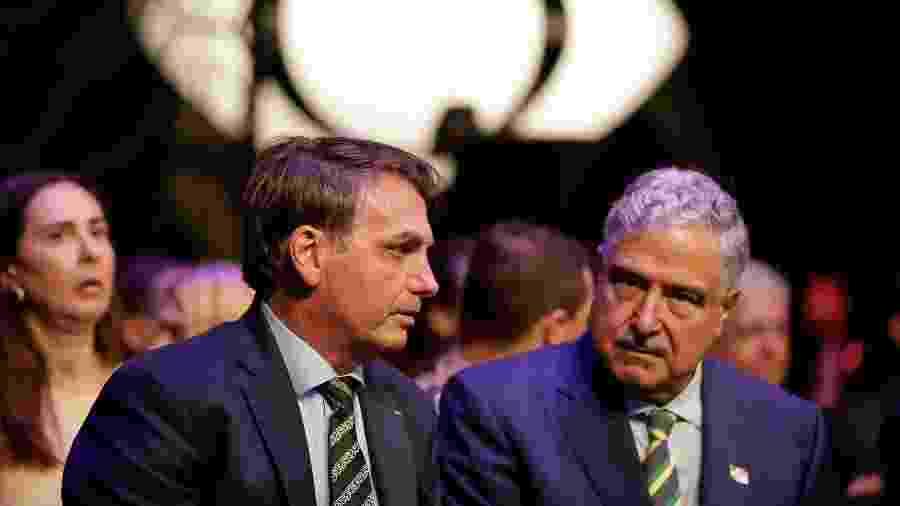 Depois da Record e SBT, presidente Bolsonaro foi recebido por Johnny Saad na Band - Carolina Antunes/PR