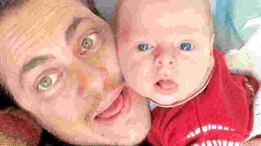 Thammy Miranda com o filho, Bento - Reprodução/Instagram