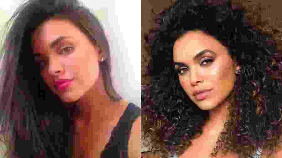 O antes e depois da transição capilar da atriz Giovana Cordeiro - Reprodução/Instagram@cordeirogi