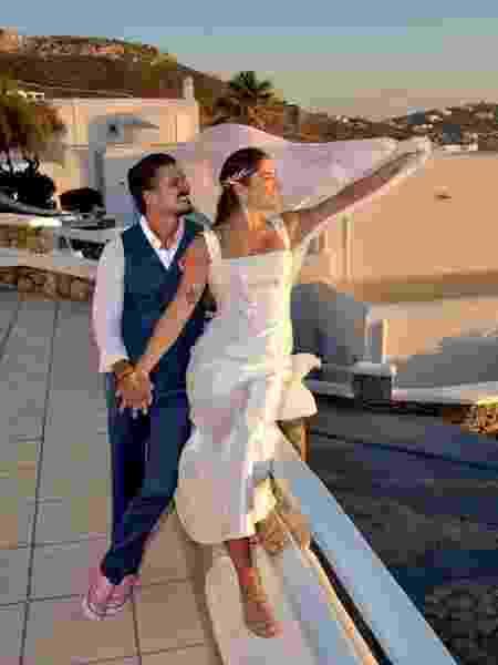 Priscila Fantin mostrou fotos do casamento no Instagram - Reprodução/Instagram @priscilafantin