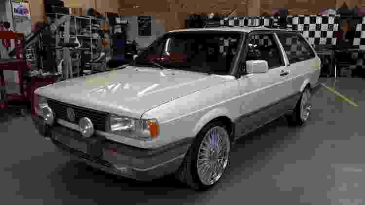 Volkswagen Parati GTI - Arquivo pessoal - Arquivo pessoal