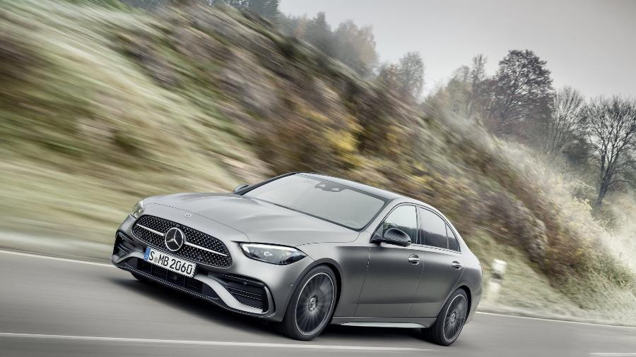 Mercedes-Benz Classe C 2022 - Divulgação