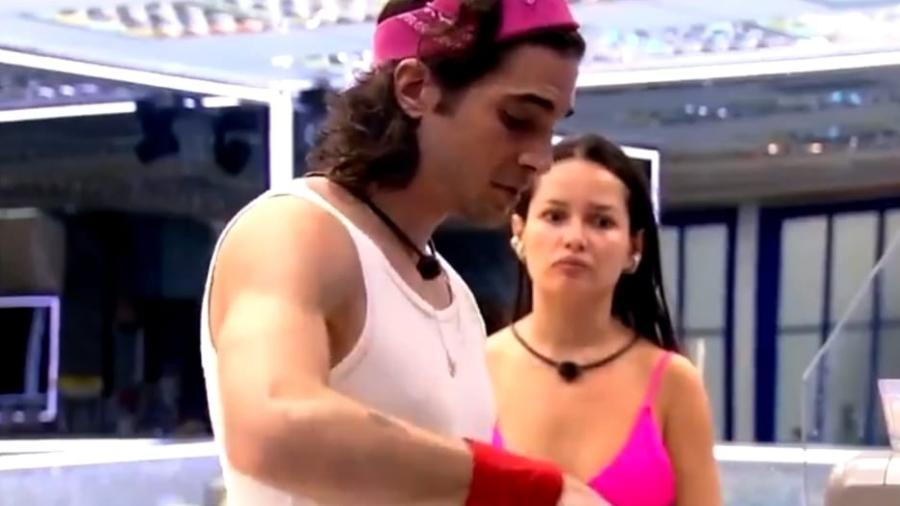 BBB 21: Fiuk e Juliette se desentendem na cozinha - Reprodução/Globoplay