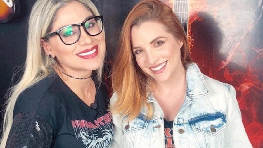 Clara Aguilar e Vanessa Mesquita  - Reprodução Instagram