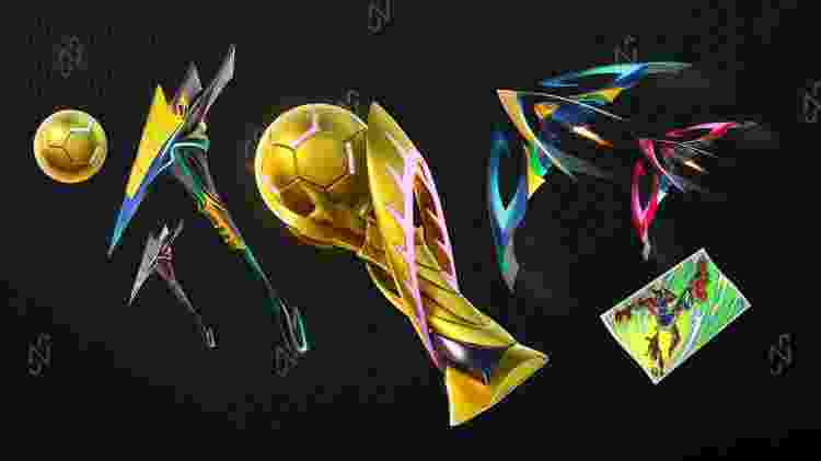 Fortnite Neymar - Divulgação/Epic Games - Divulgação/Epic Games