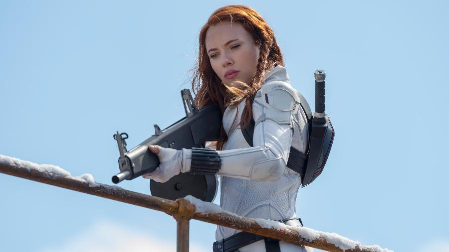 "Natasha Romanoff (Scarlett Johansson) em ""Viúva Negra"" - Marvel Studios"
