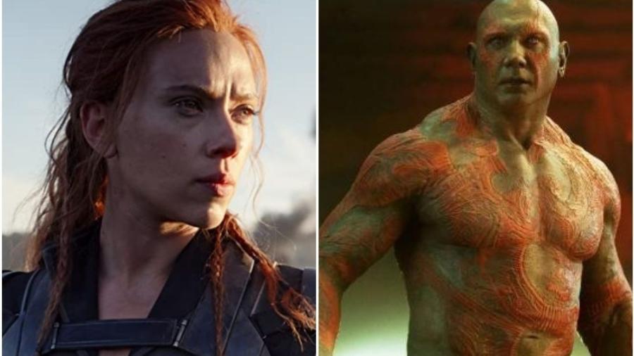 Dave Bautista ironizou a Disney após processo de Scarlett Johansson - Reprodução