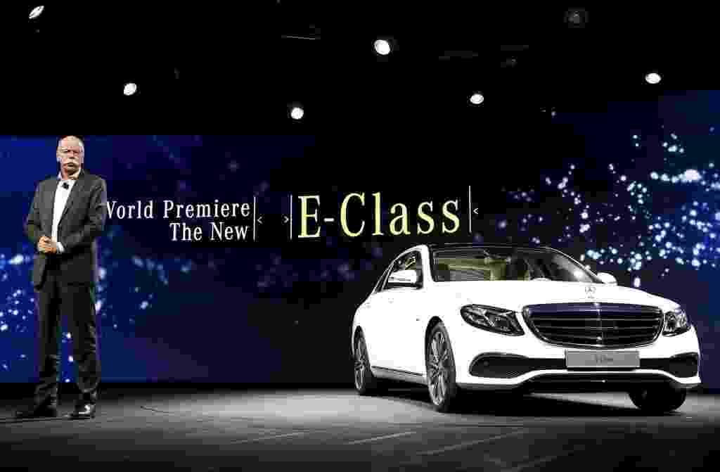 Mercedes-Benz Classe E 2016 - Gary Cameron/Reuters