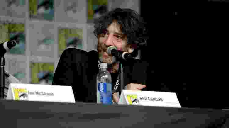 22.jul.2016 - Neil Gaiman, autor de 'Sandman', na San Diego Comic-Con - Michael Kovac/Getty Images - Michael Kovac/Getty Images