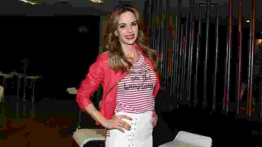 A apresentadora Ana Furtado tirou um câncer de mama - Thiago Duran/AgNews
