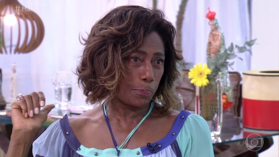 """Gloria Maria participa do """"Mais Você"""" e diz para Ana Maria que está namorando - Reprodução/TV Globo"""