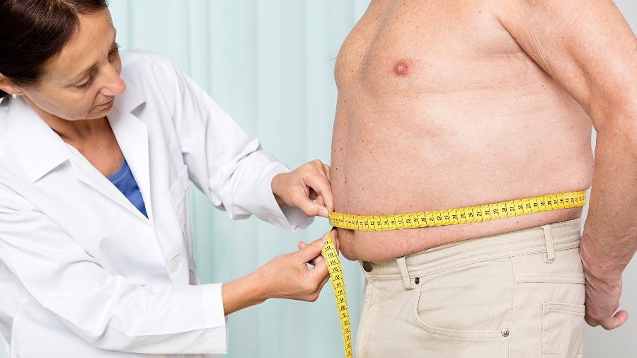 Para homens, a medida se torna perigosa a partir de 102 cm; para mulheres, a partir de 88 cm - Getty Images