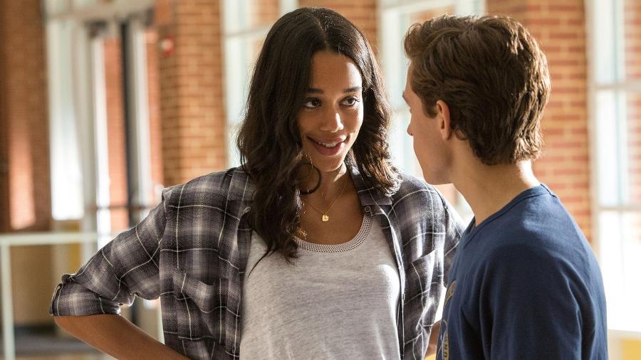 """Em """"De Volta ao Lar"""", o jovem Peter Parker tem um """"crush"""" pela colega Liz Allan - Reprodução"""