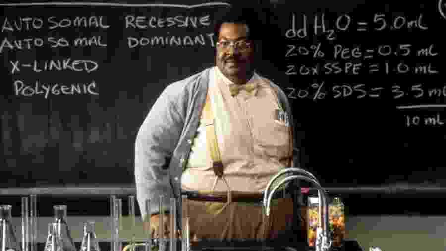 """Eddie Murphy fez sete personagens no filme """"O Professor Aloprado"""" - Divulgação"""