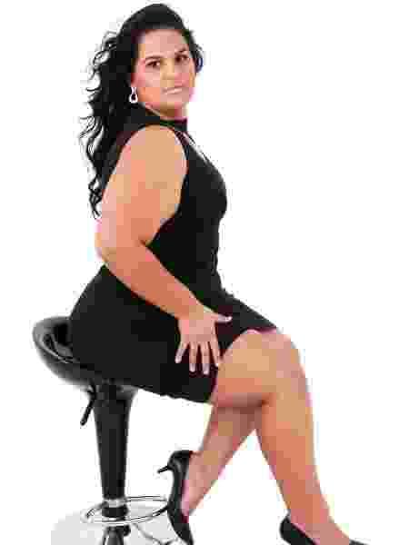 Juliana Machado, 35 anos, modelo plus size que passou a aceitar suas coxas - Arquivo Pessoal - Arquivo Pessoal