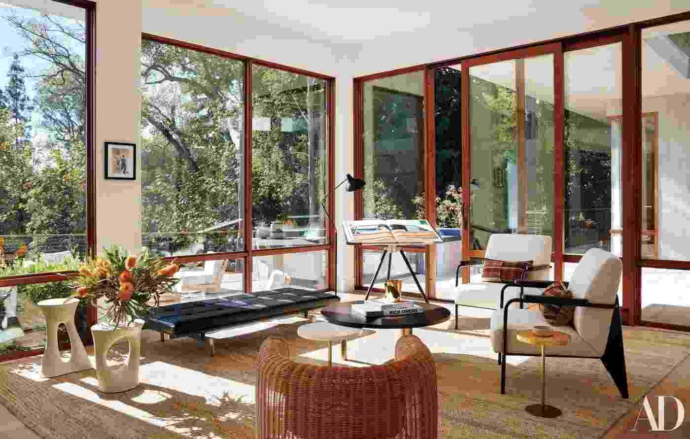 O interior da mansão de Ricky Martin em Beverly Hills - Reprodução/Architectural Digest