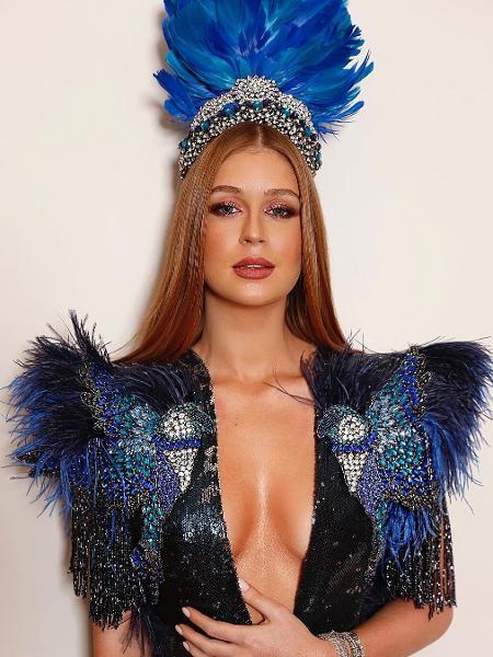 Marina Ruy Barbosa com o look da noite para o Baile da Vogue 2018 - Reprodução/Instagram