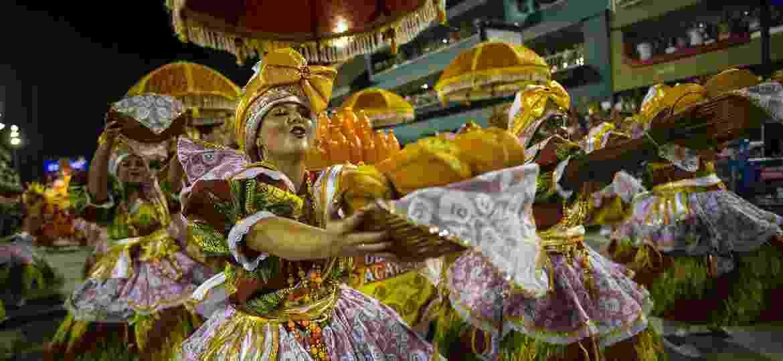 União da Ilha espalhou aromas pela Sapucaí com enredo sobre culinária brasileira - Bruna Prado/UOL