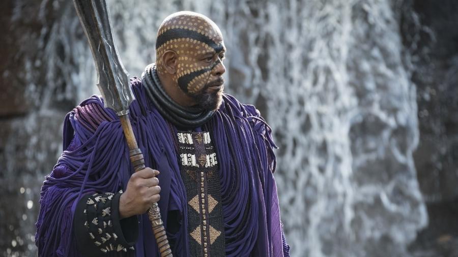 """Forest Whitaker é Zuri em """"Pantera Negra"""" - Divulgação"""
