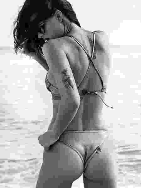 Isabeli Fontana em foto para a revista Elle, da Espanha - Reprodução/Elle Spain