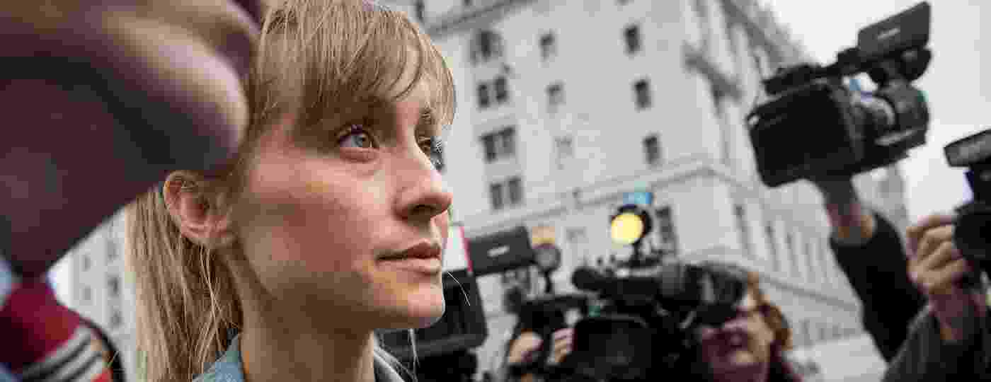 Allison Mack deixa tribunal no Brooklyn, em Nova York - Drew Angerer/Getty Image