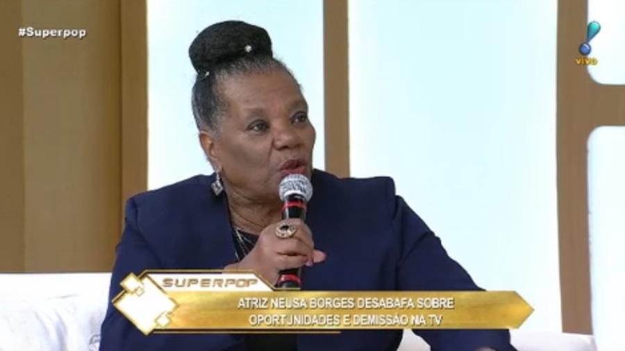 Neusa Borges no Superpop - Reprodução/Rede TV
