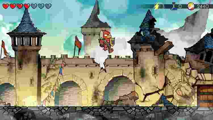 """""""Wonder Boy: The Dragon's Trap"""" é um belo game das mesmas equipes envolvidas em """"Streets of Rage 4"""" - Divulgação"""