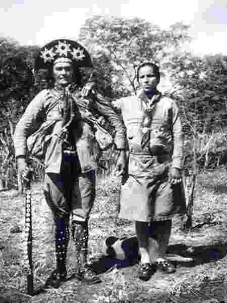 Corisco e Dadá, ela, a rival de Maria Bonita - Benjamin Abrahão